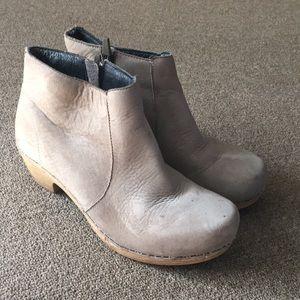 Dansko Leather Bootie